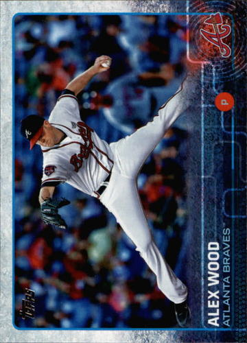 Photo of 2015 Topps #642 Alex Wood