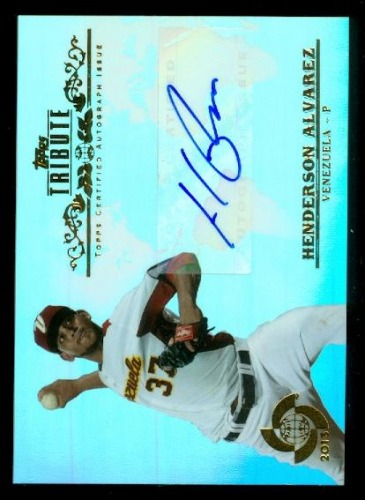 Photo of 2013 Topps Tribute WBC Autographs #HA Henderson Alvarez