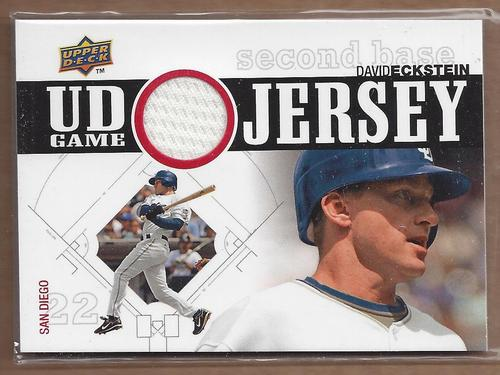 Photo of 2010 Upper Deck UD Game Jersey #DE David Eckstein
