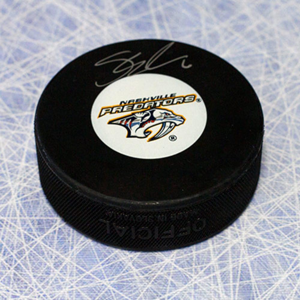Shea Weber Nashville Predators Autographed Hockey Puck *Montreal Canadiens*