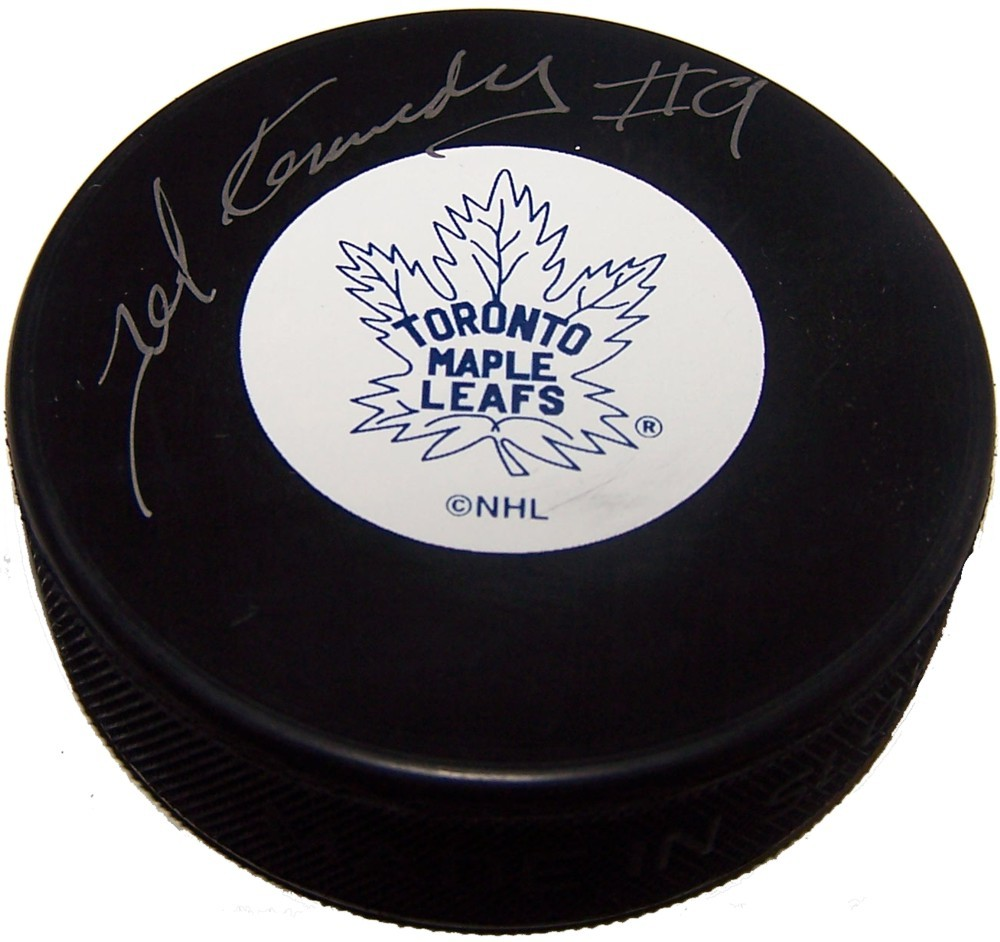 Ted Kennedy (deceased) Autographed Toronto Maple Leafs Puck