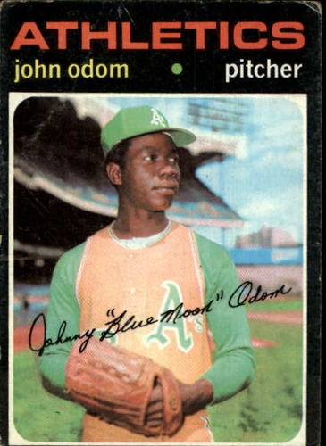 Photo of 1971 Topps #523 John Odom