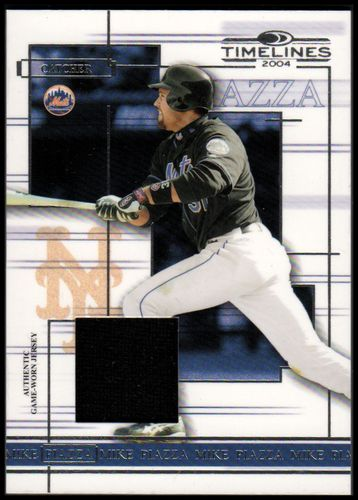 Photo of 2004 Donruss Timelines Material #35 Mike Piazza Jsy