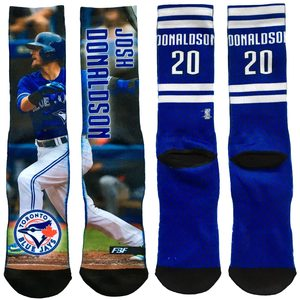 Toronto Blue Jays Field Stripe Josh Donaldson Socks by FBF