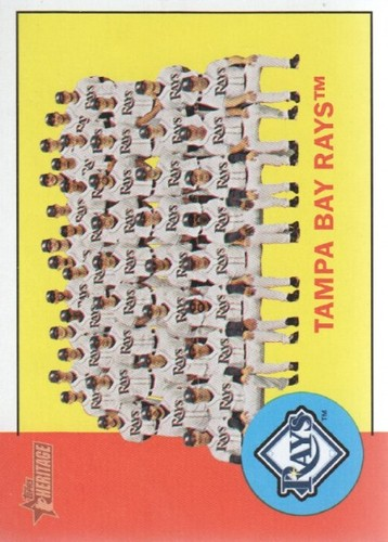 Photo of 2012 Topps Heritage #312 Tampa Bay Rays TC