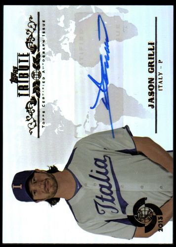Photo of 2013 Topps Tribute WBC Autographs #JG Jason Grilli