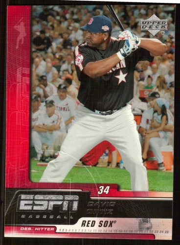 Photo of 2005 Upper Deck ESPN #13 David Ortiz