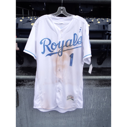Photo of Jarrod Dyson Game-Used Father's Day Jersey (Size 42)