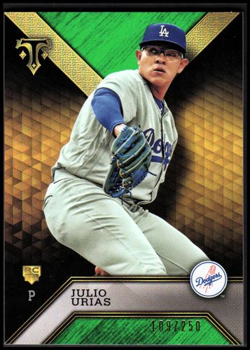 Photo of 2016 Topps Triple Threads Emerald #100 Julio Urias