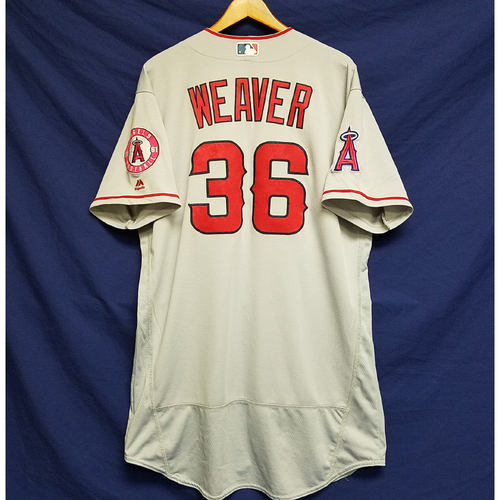 Photo of Jered Weaver Team-Issued 2016 Road Jersey