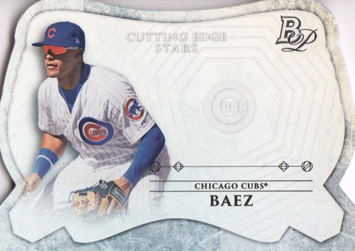 Photo of 2014 Bowman Platinum Cutting Edge Stars #CESJB Javier Baez