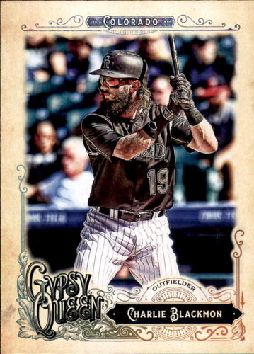 Photo of 2017 Topps Gypsy Queen #247 Charlie Blackmon