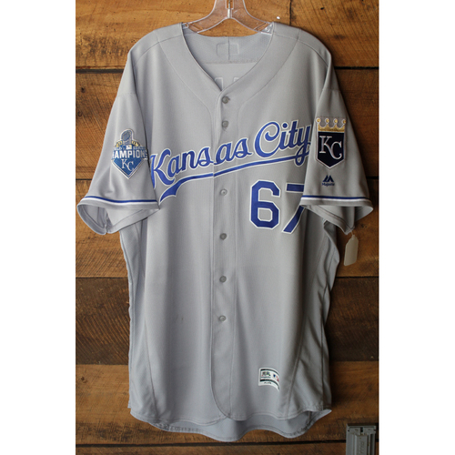Photo of Game-Used Jersey: Chien-Ming Wang (Size 50 - KC at NYY - 5/12/16)