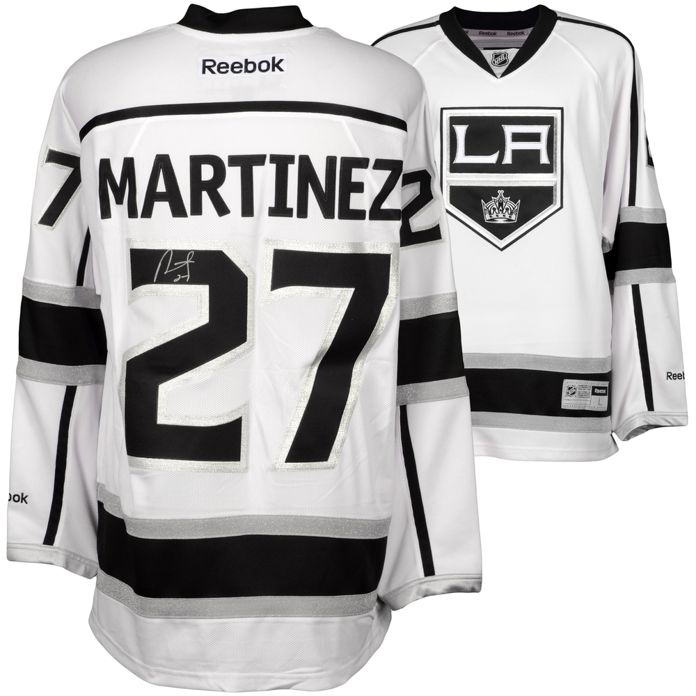Alec Martinez Los Angeles Kings Autographed White Reebok Premier Jersey