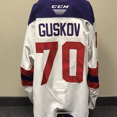 Matvey Guskov 2019 Sherwin-Williams CHL/NHL Top Prospects Game Issued Jersey