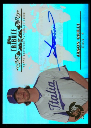 Photo of 2013 Topps Tribute WBC Autographs #JG2 Jason Grilli