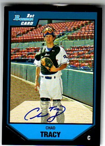 Photo of 2007 Bowman Prospects #BP130 Chad Tracy AU