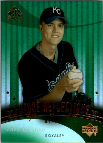 Photo of 2005 Reflections Emerald #126 Zack Greinke FUT