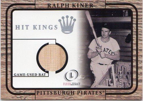 Photo of 2001 Fleer Legacy Hit Kings #18 Ralph Kiner