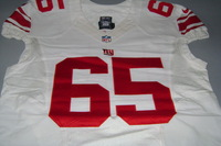 NFL INTERNATIONAL SERIES - GIANTS WILL BEATTY GAME WORN GIANTS JERSEY (OCTOBER 23 2016)