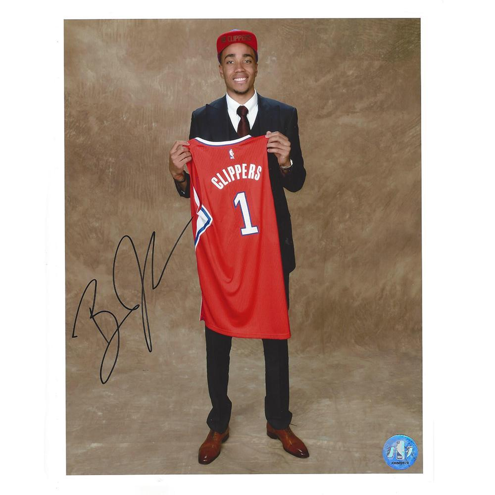 Brice Johnson - Los Angeles Clippers - 2016 NBA Draft - Autographed Photo