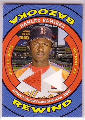 Photo of 2006 Bazooka Rewind Relics #HR Hanley Ramirez Jsy G