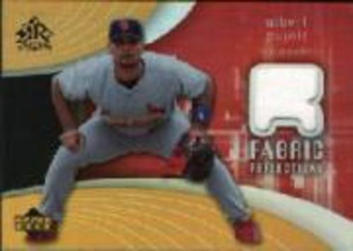 Photo of 2005 Reflections Fabric Jersey #AP Albert Pujols