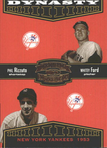 Photo of 2004 Throwback Threads Dynasty #1 P.Rizzuto/W.Ford