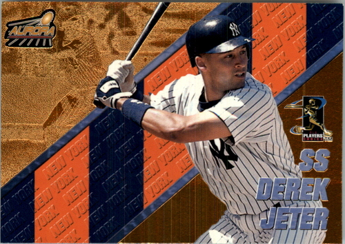 Photo of 1998 Aurora Pennant Fever #2 Derek Jeter