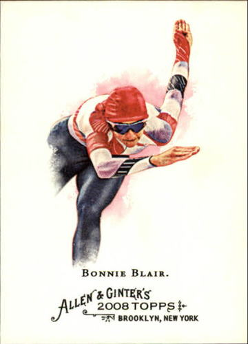 Photo of 2008 Topps Allen and Ginter #84 Bonnie Blair