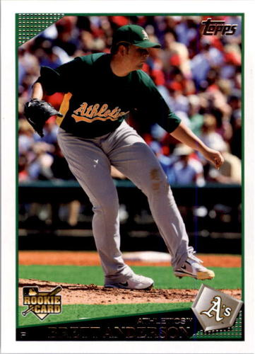 Photo of 2009 Topps #583 Brett Anderson RC