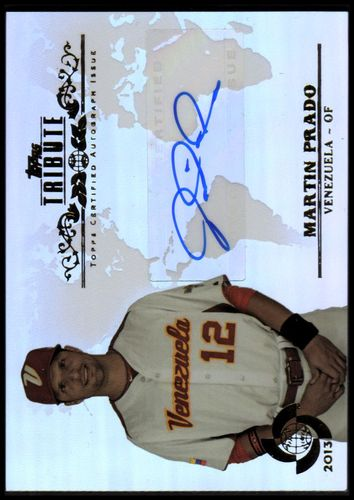 Photo of 2013 Topps Tribute WBC Autographs #MP Martin Prado