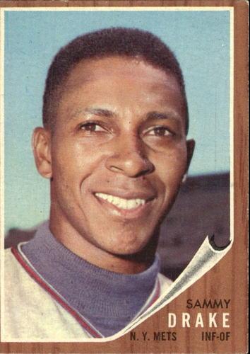 Photo of 1962 Topps #162 Sammy Drake RC