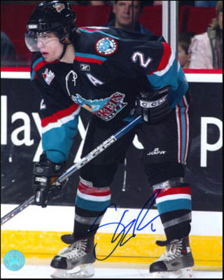 Shea Weber Kelowna Rockets Autographed CHL Hockey 8x10 Photo *Nashville Predators*