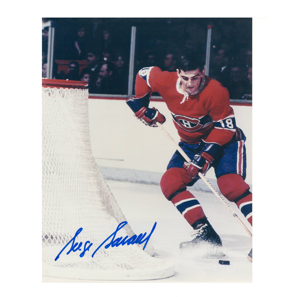 SERGE SAVARD Signed Montreal Canadiens 8 X 10 Photo - 70196