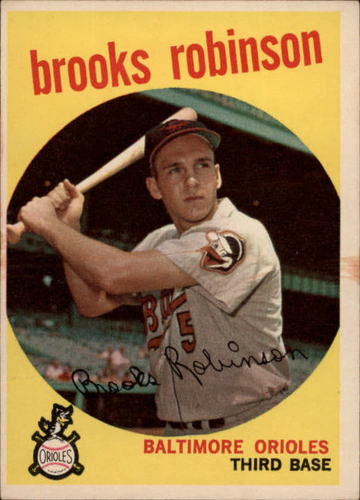 Photo of 1959 Topps #439 Brooks Robinson