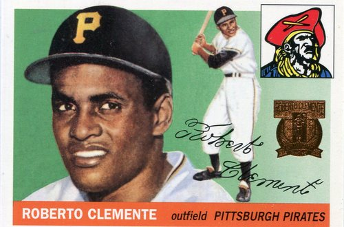 Photo of 1998 Topps Clemente #1 Roberto Clemente 1955