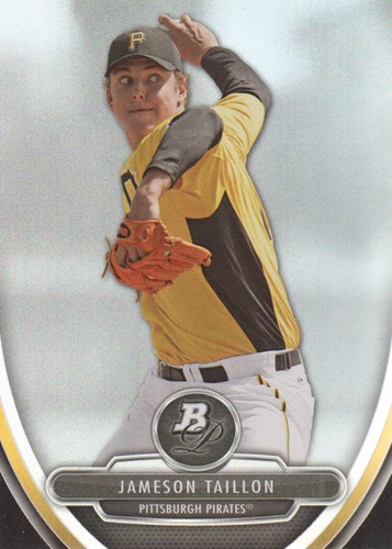 Photo of 2013 Bowman Platinum Prospects #BPP14 Jameson Taillon Pre-Rookie Card