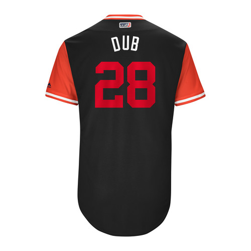 "Photo of Jayson ""Dub"" Werth Washington Nationals Team-Issued Players Weekend Jersey"