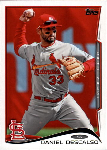 Photo of 2014 Topps Update #US85 Daniel Descalso