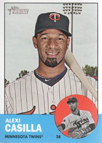 Photo of 2012 Topps Heritage #314 Alexi Casilla