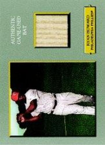 Photo of 2006 Topps Turkey Red Relics #RH Ryan Howard Bat A