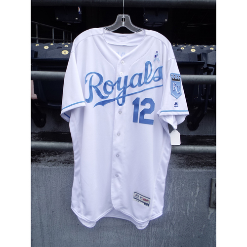 Photo of Brett Eibner Game-Used Father's Day Jersey (Size 48)