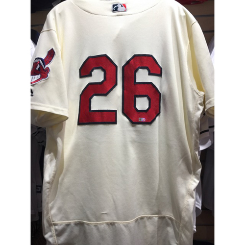 Photo of Mike Napoli Team-Issued Alternate Home Jersey