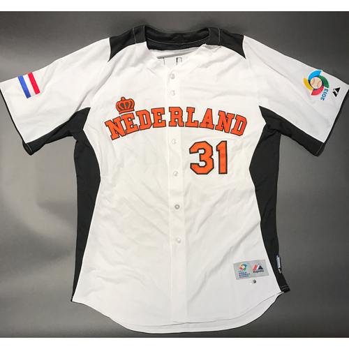Photo of 2013 World Baseball Classic Jersey - Netherlands Jersey, Hensley Meulens #31