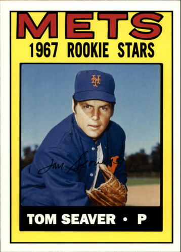 Photo of 2006 Topps Rookie of the Week #15 Tom Seaver 1968