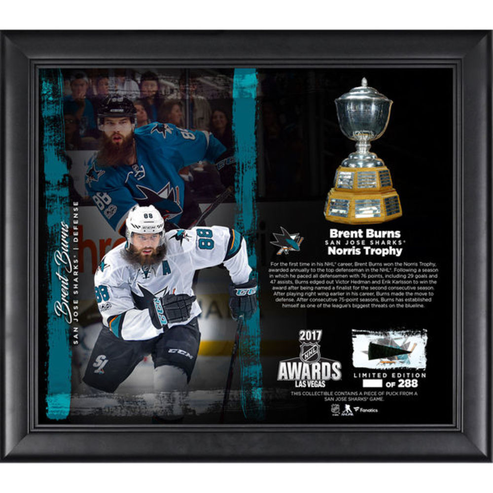 Brent Burns San Jose Sharks Framed 15