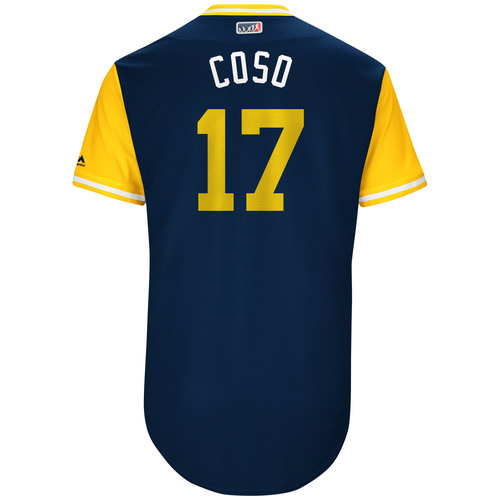 "Photo of Allen ""Coso"" Cordoba San Diego Padres Game-Used Players Weekend Jersey"