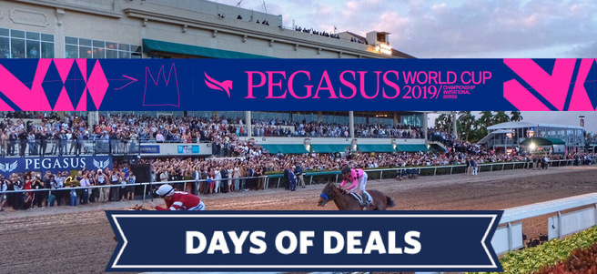 PEGASUS WORLD CUP HORSE RACE (TEN PALMS PREMIUM TICKETS) - PACKAGE 1 of 3