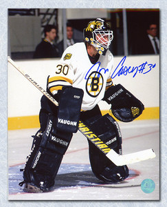 Jon Casey Boston Bruins Autographed 8x10 Goalie Photo